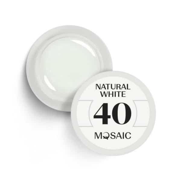 40 - Natural White 1