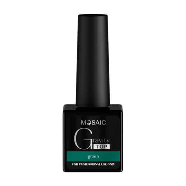 Mosaic Gravity Top Gel - Green 1