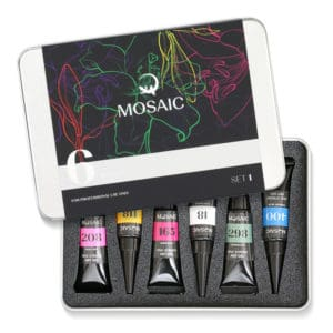 Mosaic One-Stroke Art Gels