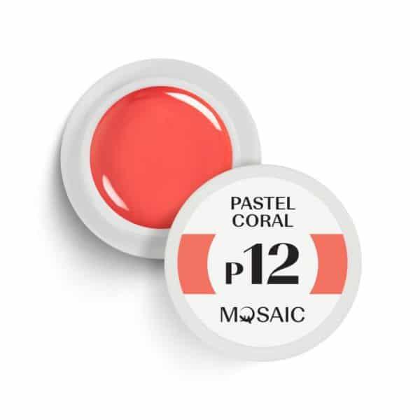 P12 Pastel Coral 1