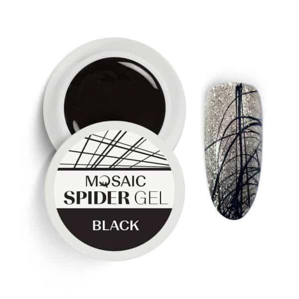 Mosaic Spider Gel - Black 1
