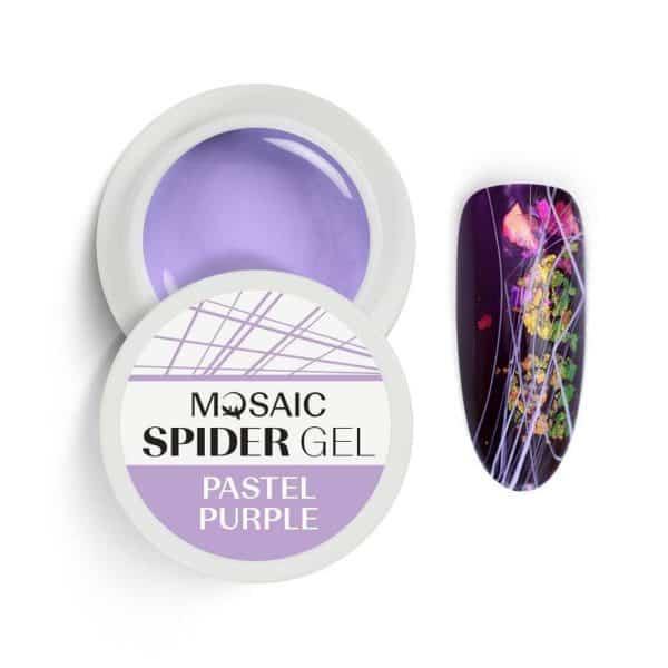 Mosaic Spider Gel - Pastel Purple 1