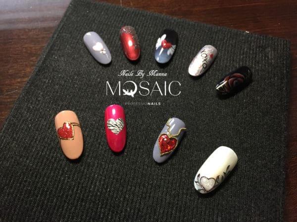 Valentine's Day Nail Art Class 1