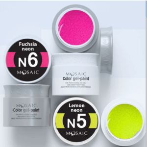 Mosaic Neon Gel Paints