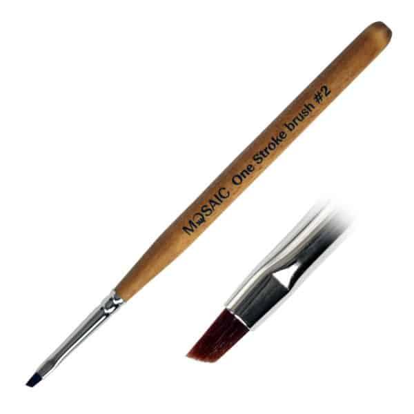 Mosaic One-Stroke Brush #2 1