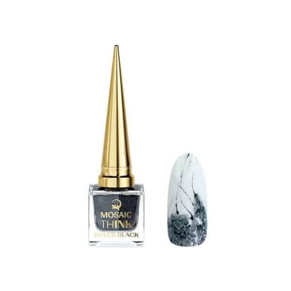 Mosaic ThINK - Black Silver Sparkle 1