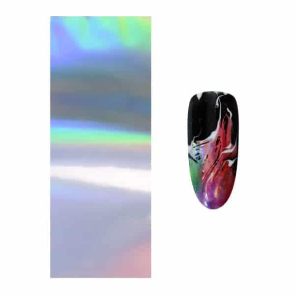 Art Foil Silver Hologram 1