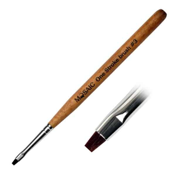 Mosaic One-Stroke Brush #3 1