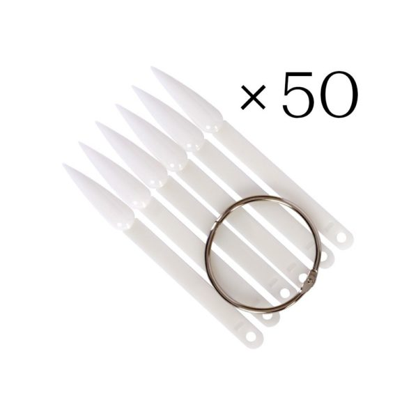 Display Tips (50) NATURAL STILETTO 1