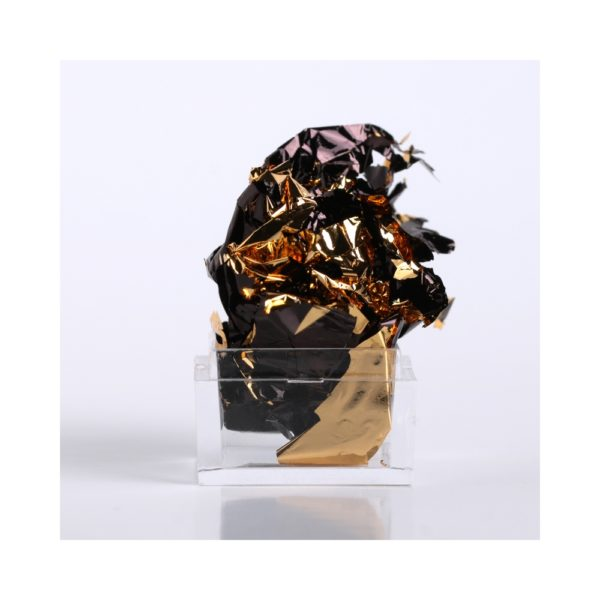 Black-Gold Leaf Foil 1